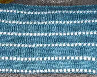 Baby Blanket Knitted Happy Stripes