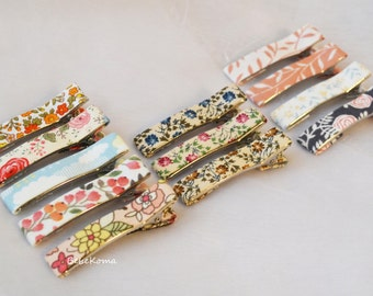Print hair clips, toddler hair clips, Hair Clip, Hair accessories, Baby Hair clip, Hair Bow, Hair clips for girl, girls hair clip