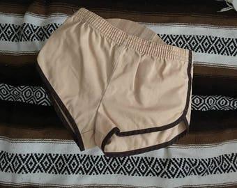 CLEARANCE Kids Khaki-colored Gym Shorts