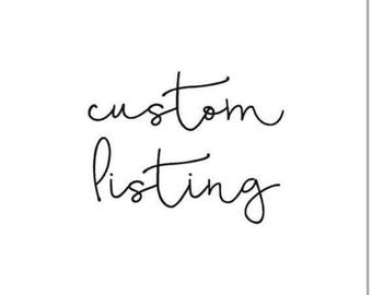 Customer request