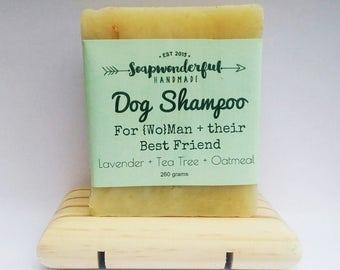 Natural Dog Shampoo Essential Oil Oatmeal Soap Bar