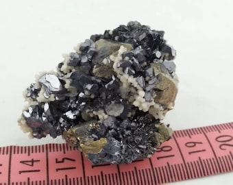 Calcite-Sphalerite-Chalcopyrite-Galena-Borieva mine -Madan Bulgaria