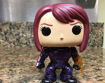 Custom Mass Effect Commander Jane Shepard Pop Vinyl