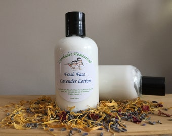 Fresh face Lavender lotion