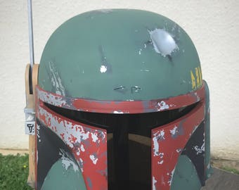 Boba fett deluxe empire strikes back helmet!