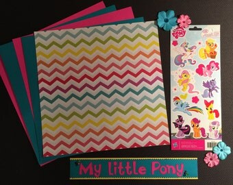 My Little Pony Scrapbooking Kit