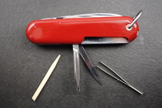 Wenger Swiss Army Knife Classic 16 Vintage Pre