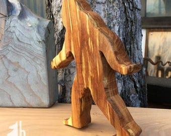 Sasquatch bottle opener of Oak and Birch