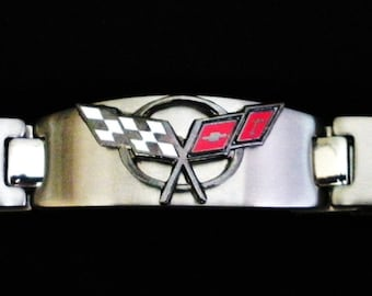 Corvette C5 Stainless Steel Bracelet