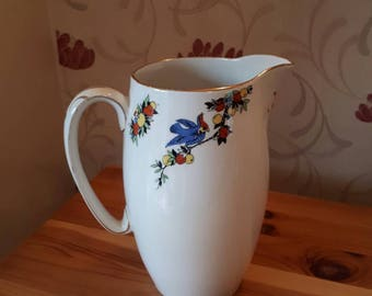 Vintage Jug Astoria Ware - with tropical design