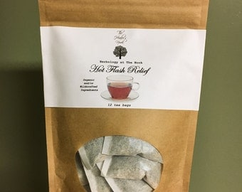Hot Flash Relief Tea - Made With Organic Ingredients