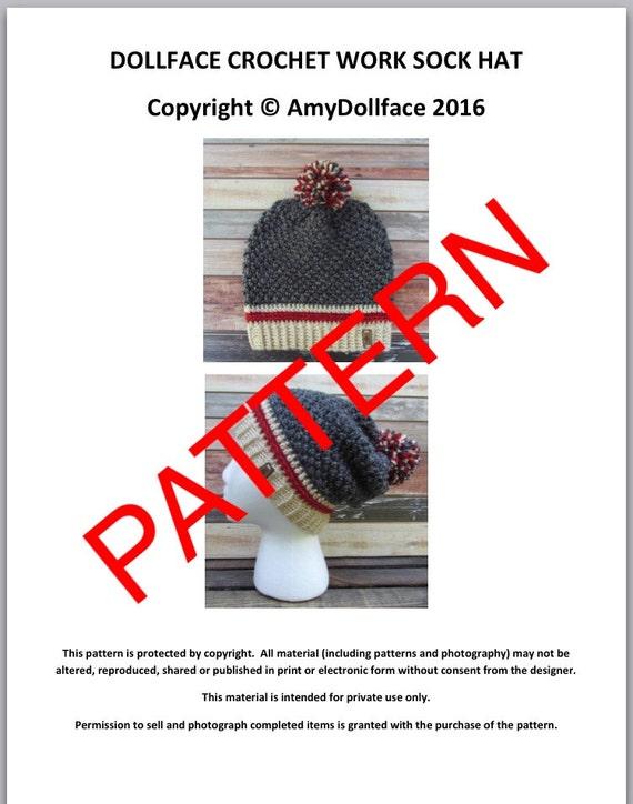 Work Sock Hat Knitting Pattern : Buy get free coupon code freepattern crochet