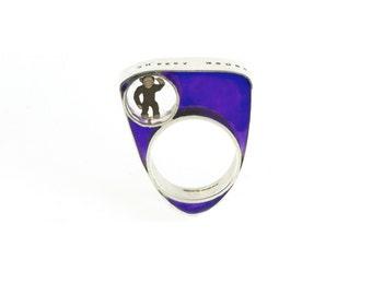 Cheeky Monkey Ring