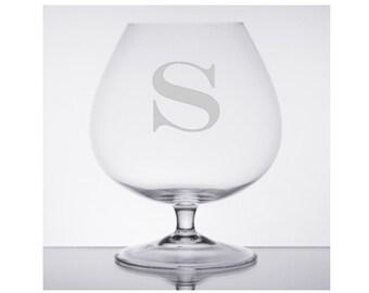 Brandy Glass, Cognac Glass, Hennessy, Snifter Glass, Personalized Snifter, Personalized Brandy Glass, Etched Brandy Glass, Brandy Glasses