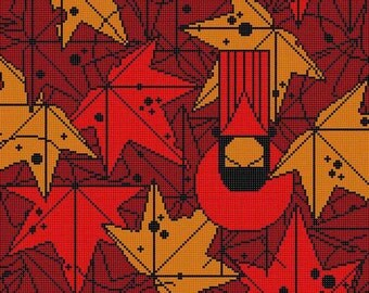Under the Sweetgum Tree Needlepoint Pattern