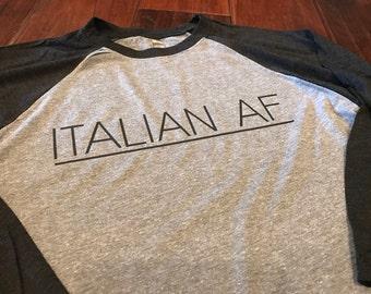 Italian AF Design on Next Level Raglan