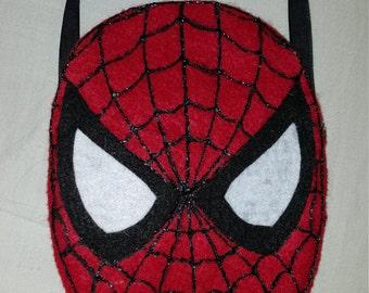 Custom handmade spiderman candy bags!