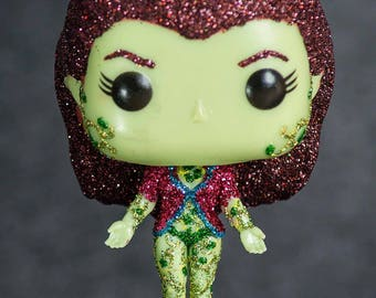 Arkham Asylum Poison Ivy Glitter Pop