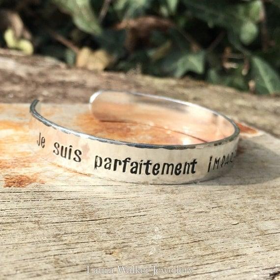 Bracelet aluminium personnalisable