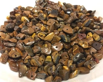 2-15 mm Tigers Eye Chips 96 Grams