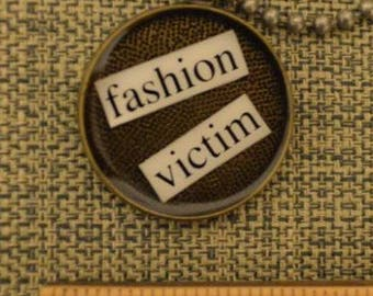 Fashion Victim Pendant Necklace