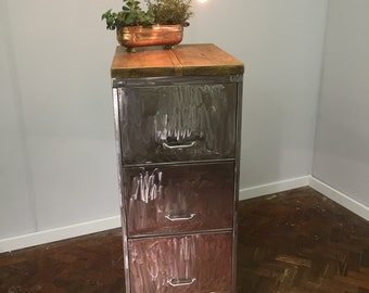Items Similar To Filing Cabinet Made Out Of Reclaimed Barn
