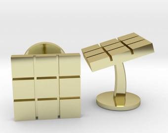 Rubix Cube Cufflinks | Wedding Geek & Gaming Cuff links | Available as Sets