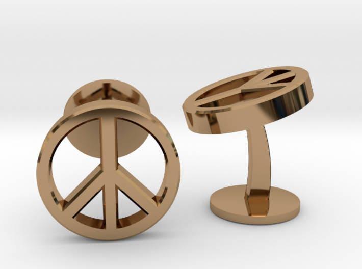 Peace Symbol Cufflinks World Peace Sign Cuff Links Geek Wedding