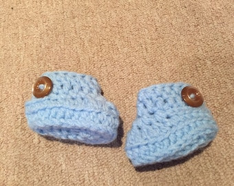 Baby booties made to order