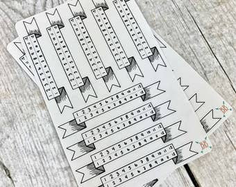Banner Time Tracker Stickers