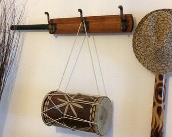 Coat Hanger Rack Wall Hooks Cricket Bat Cast Iron Snake Coat Hooks by Avenue Craft