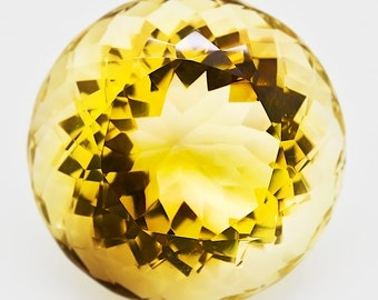 853.35ct Exceptional Citrine of Huge Size - Museum quality
