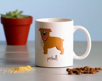 Pitbull Mug (girl)