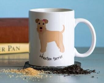 Wheaten Terrier Mug (girl)