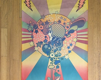 1968 Peter Max poster Adam Cosmo FREE SHIPPING