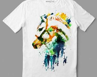 Horse t-shirt, men t-shirt