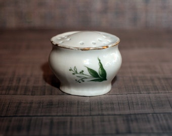 Salt keeper, Vintage salt or pepper container, salt container, kitchen decor, pepper shaker, salt box