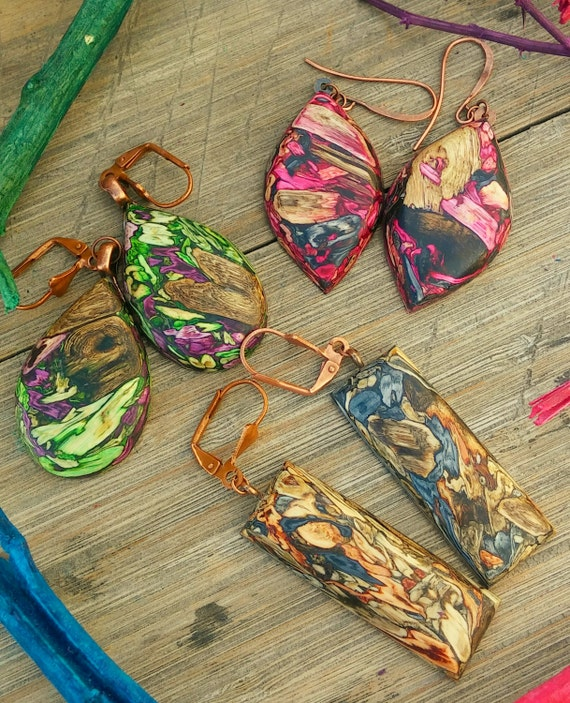 Desertscape Tumbleweed Earrings