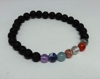 Aroematherapy Chakra Bracelets