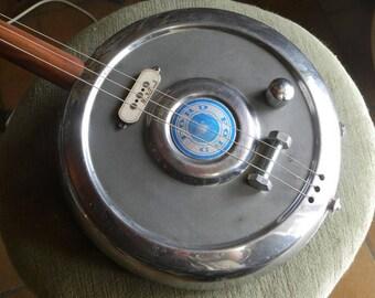 Hub-Cap slide guitar - Ford
