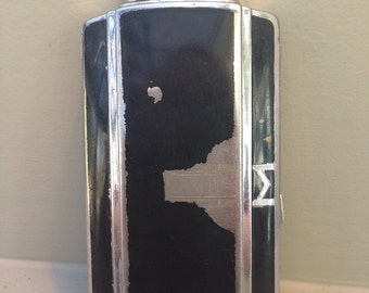 1960's Ronson Cigarette Case and Lighter
