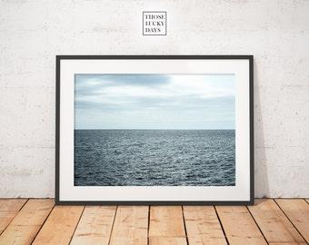 Original sea Landscape, ocean photography, wall art, decorative sea photo, wall art