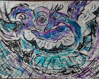 "Image copy ""mystic dreams"" 40 x 30 cm"