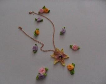 """Magic golden flower (magic Golden Flower """"Rapunzel and the plot of the tower"""" Walt Disney)"""