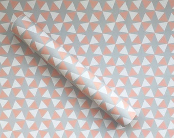 Pink Mod Wrapping Paper Sheets