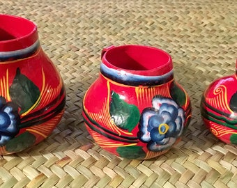 Jicara cups from Mexico Mother's Day gift