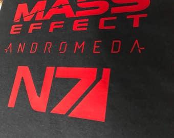 Mass Effect Andromeda inspired Gamer T-Shirt   Gift for Him   Gift for Her   Gift for Gamers