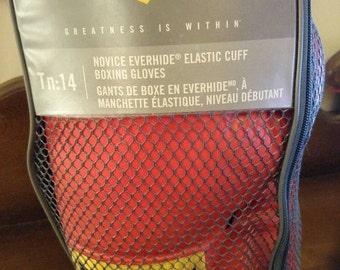 Everlast 2964 Novice 14 oz Elastic Cuff Boxing Gloves Tn 14 Train
