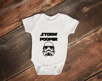 Star Wars onesie - Storm Pooper