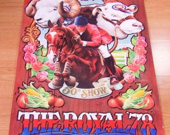 Royal Winter Fair poster, 1978